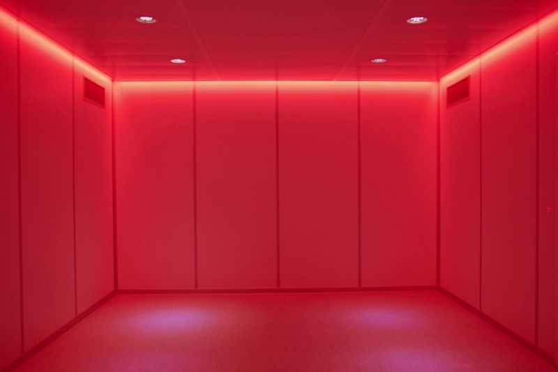 Lighting in room Photography Ledrelaxinglightred Imedco Ag Relaxing Led Lighting For Mr Rooms Imedco Of Switzerland